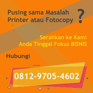 Rental Fotocopy Jakarta
